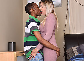 Naughty Velvet Skye goes interracial
